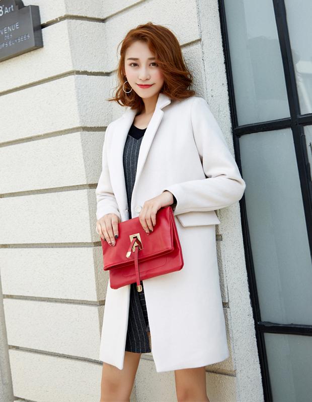 【伊霓裳】YNS84 白领条纹套装