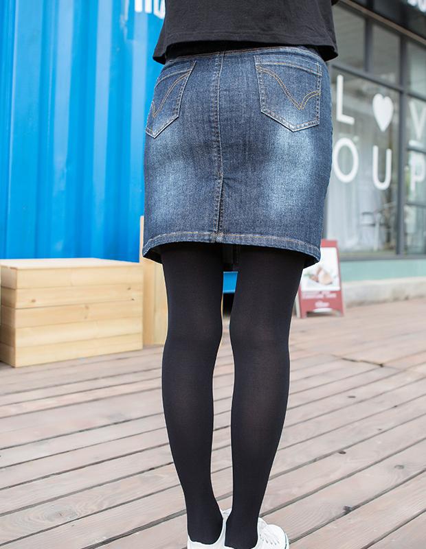 【伊霓裳】YCCW8-0025 显瘦弹力一步半身包裙
