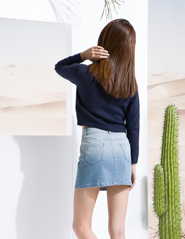 【伊霓裳】服装积分兑换 YCCW8-0028 时尚渐变半身包裙