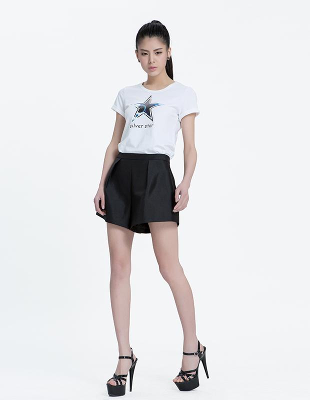 【伊霓裳】YCAL6-1820 星星针织休闲T恤