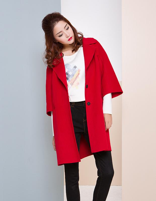 【伊霓裳】【特惠】 YCDW6-0010 汉服袖中长款大衣